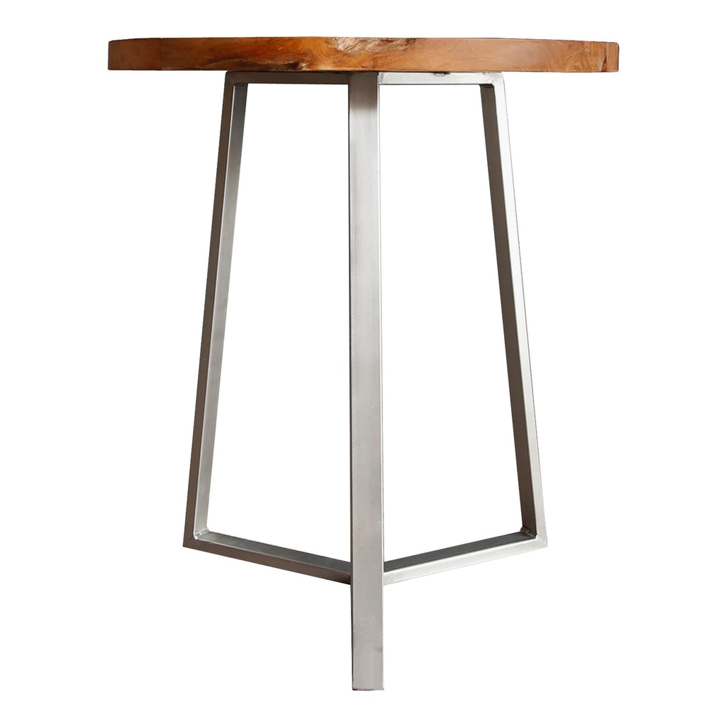 Leon Reclaimed Teak Wood End Table - What A Room Furniture