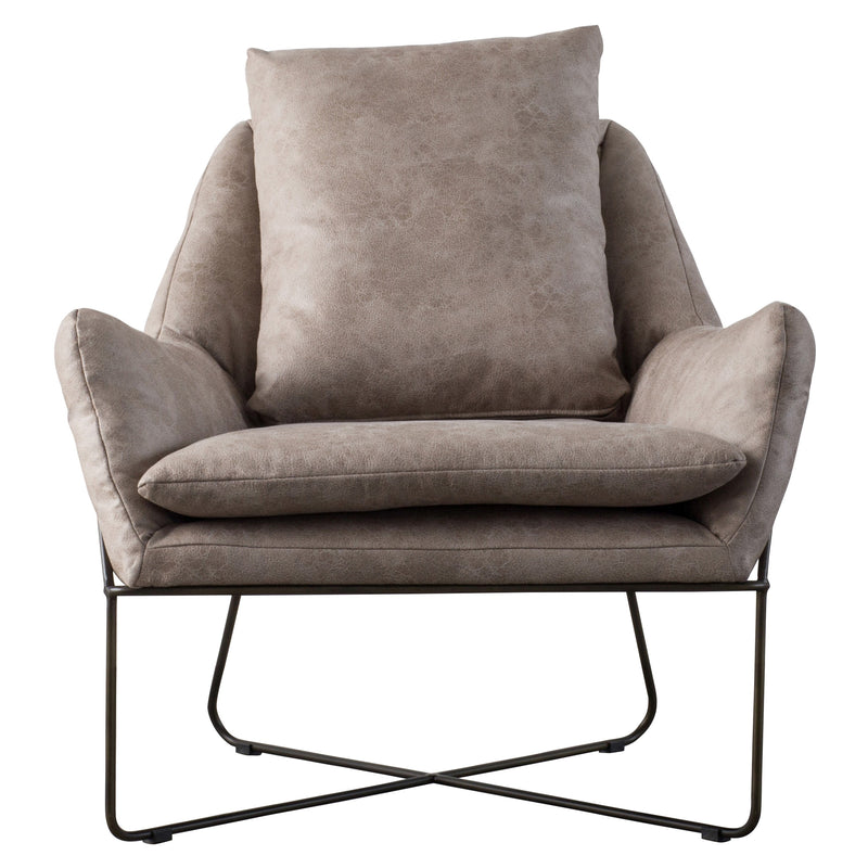 Sydney PU Arm Chair - What A Room Furniture