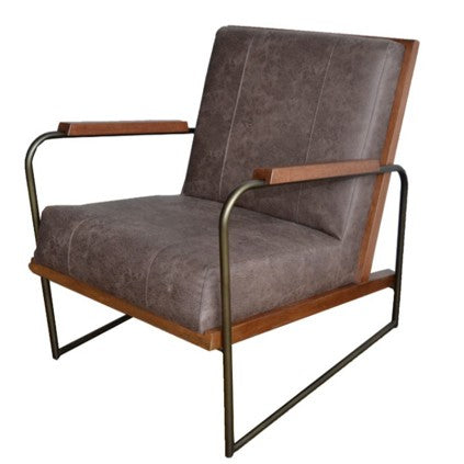 Damian PU Accent Chair - What A Room Furniture