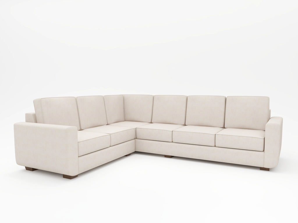 Massive L-shaped sectional that is completely customized by the customer - WhatARoom Furniture San Jose