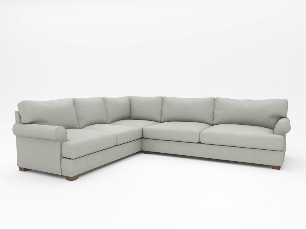 Harmony Custom L-Sectional Upholstered - What A Room
