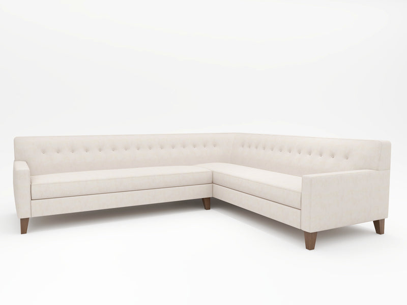 Dante Tight Back Upholstered L Sectional - What A Room Furniture