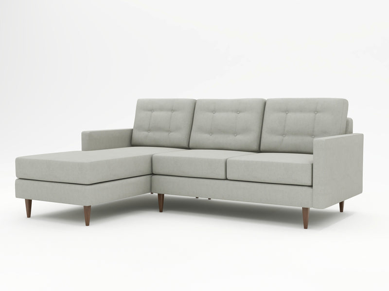 Medium sized sofa with chaise - Custom