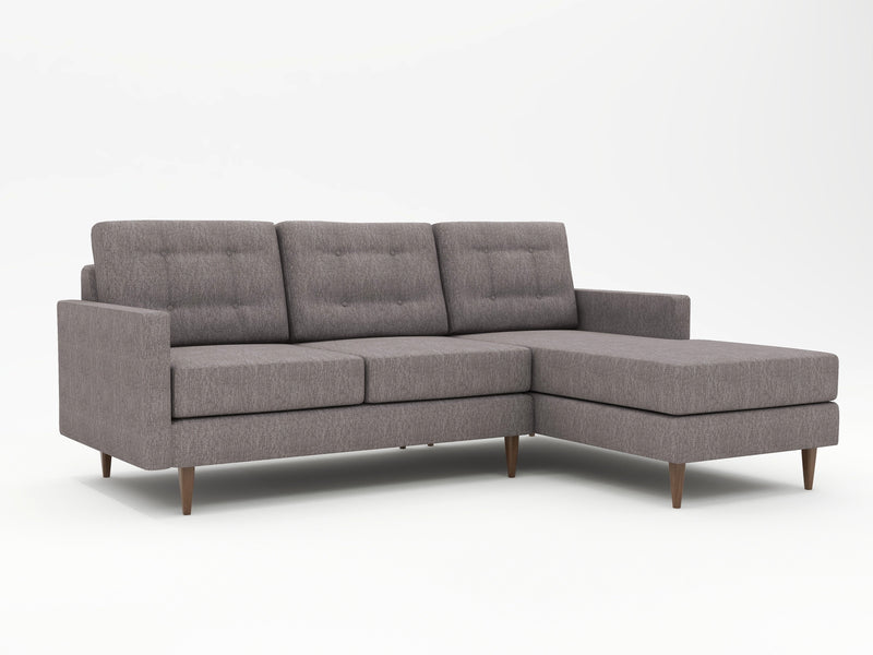 Moderate grey tone - custom sofa chaise - WhatARoom San Jose