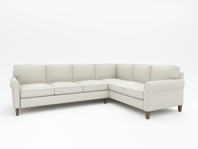 Opus Custom L-Sectional Upholstered - What A Room Furniture