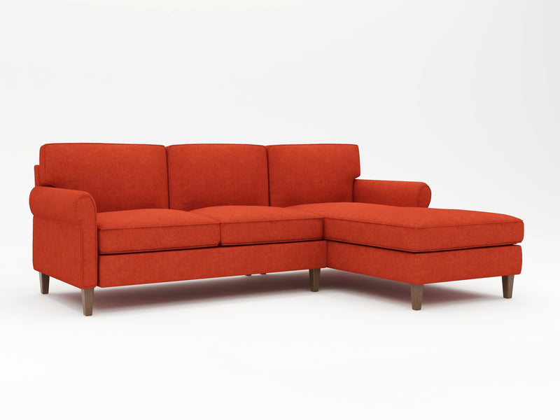 Opus Custom Sofa Chaise Upholstered - What A Room Furniture