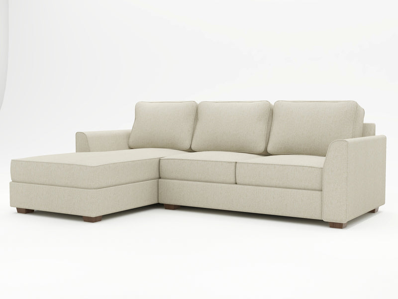 Tiffany Slope Arm Upholstered Sofa Chaise - What A Room