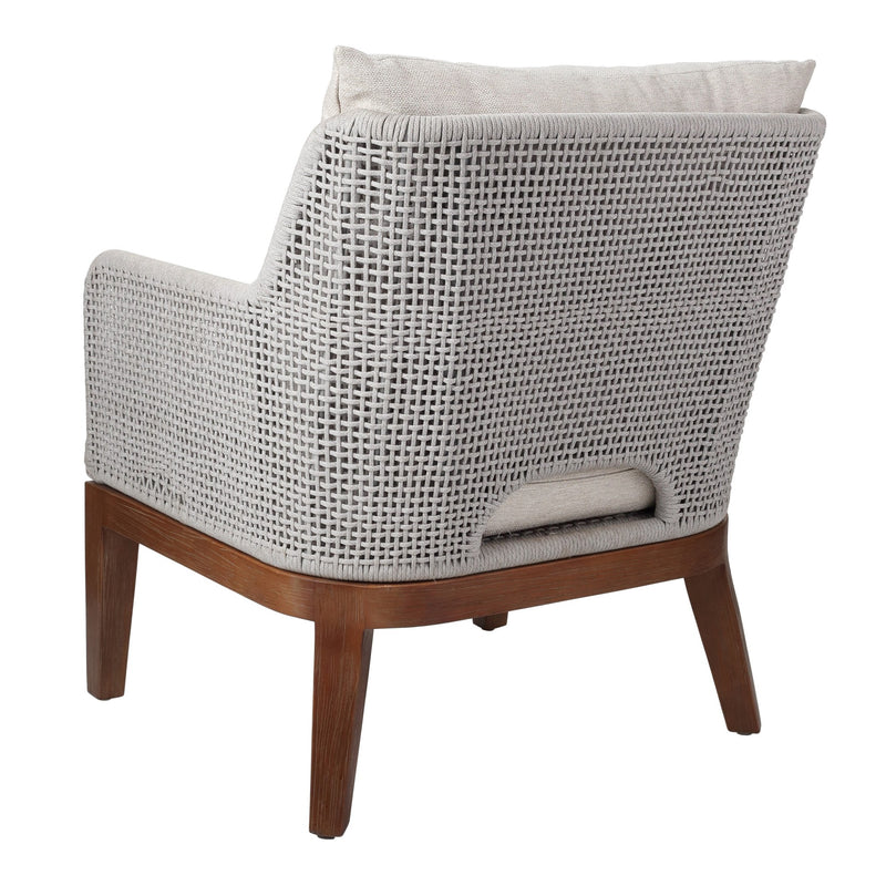Margot Rope Accent Arm Chair - What A Room