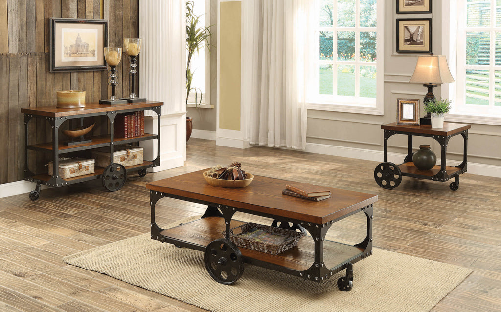 Rustic Cherry Coffee Table - What A Room Furniture