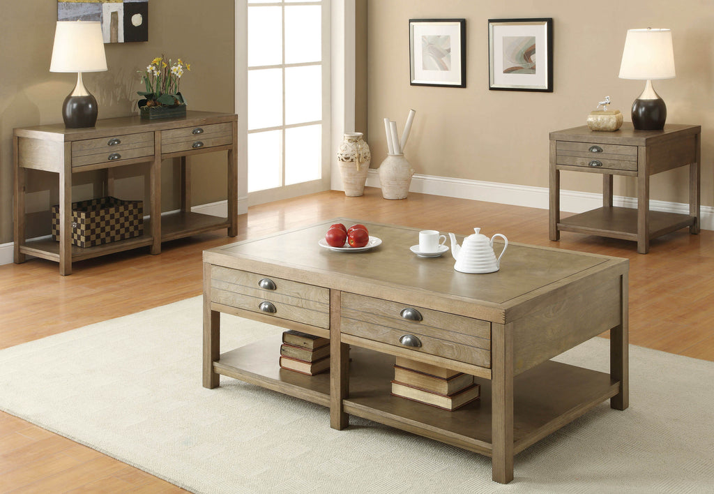 Occasional Group Casual Light Oak Coffee Table - What A Room Furniture