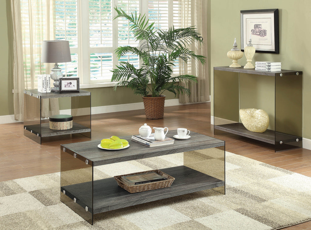 Rustic Grey Coffee Table - What A Room Furniture