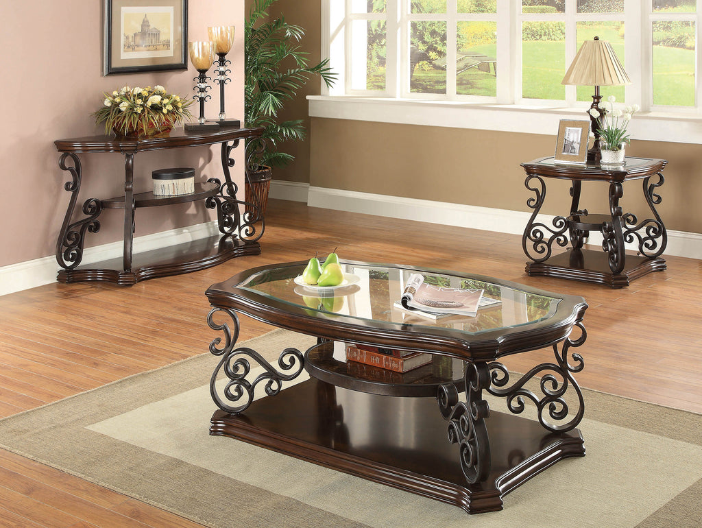 Occasional Traditional Dark Brown Coffee Table - What A Room Furniture