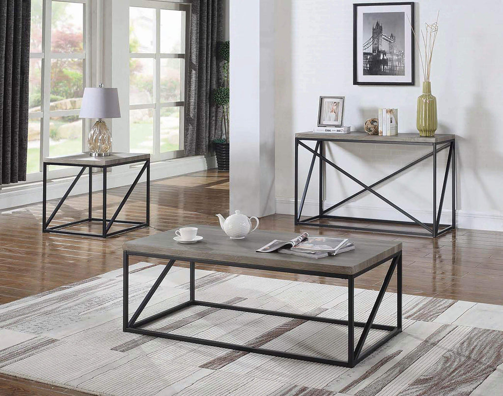 Industrial Sonoma Grey Coffee Table - What A Room Furniture