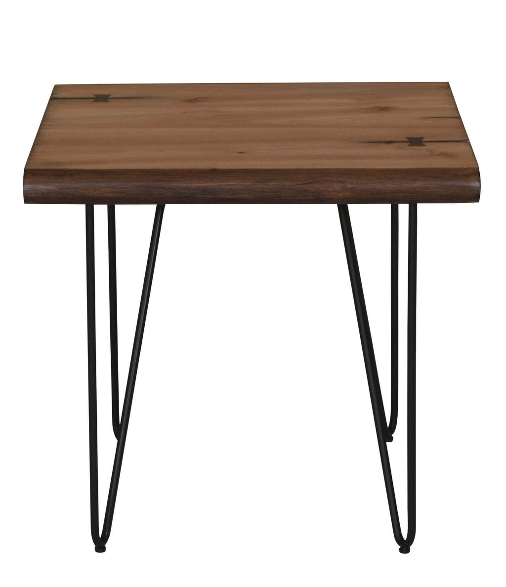 Scott Living Mid-Century Modern Mahogany Coffee Table - What A Room Furniture