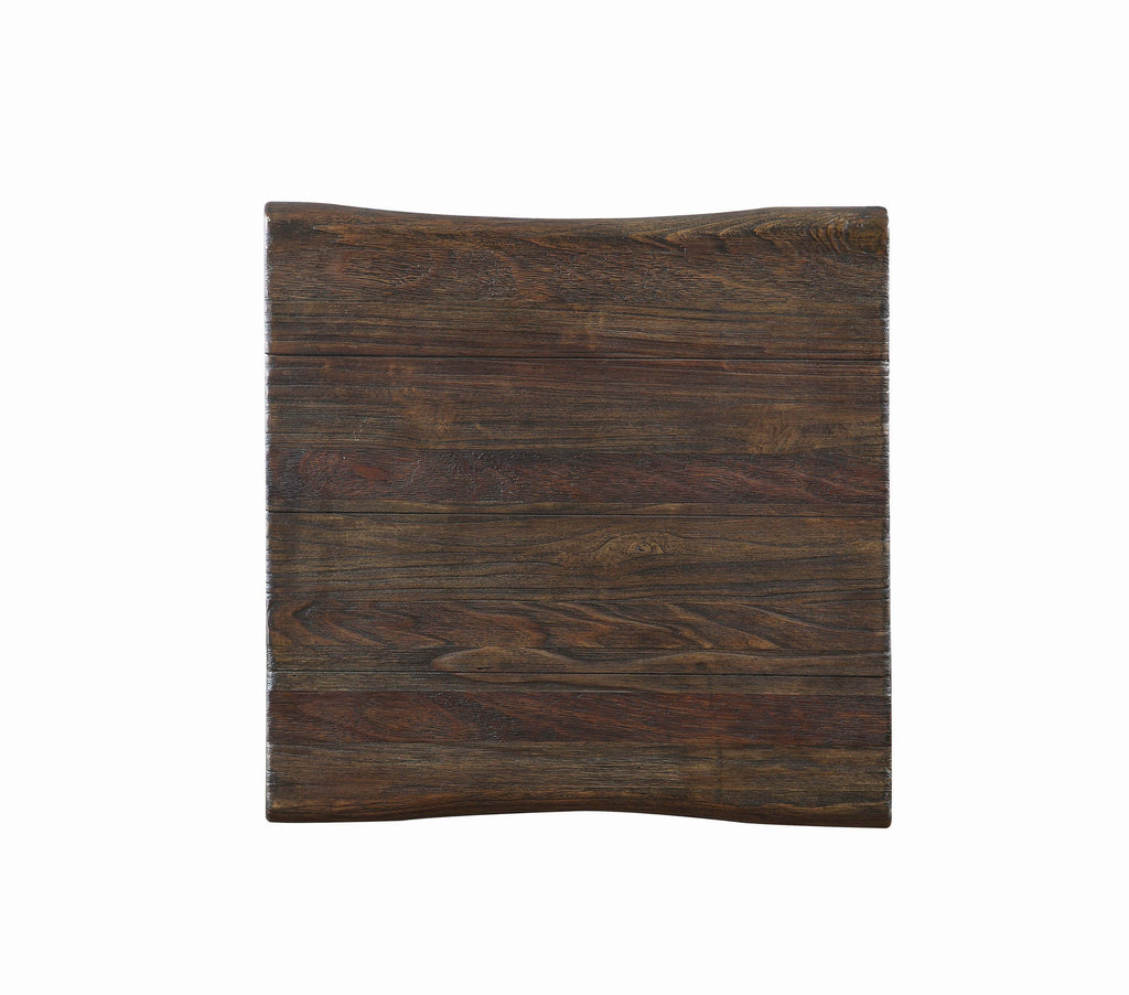 Scott Living Rustic Dark Brown Coffee Table - What A Room Furniture