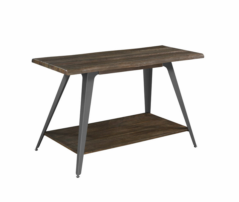 Scott Living Rustic Dark Brown Coffee Table - What A Room