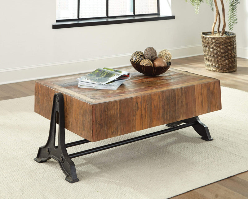 Scott Living Recycled Wood Coffee Table - What A Room Furniture