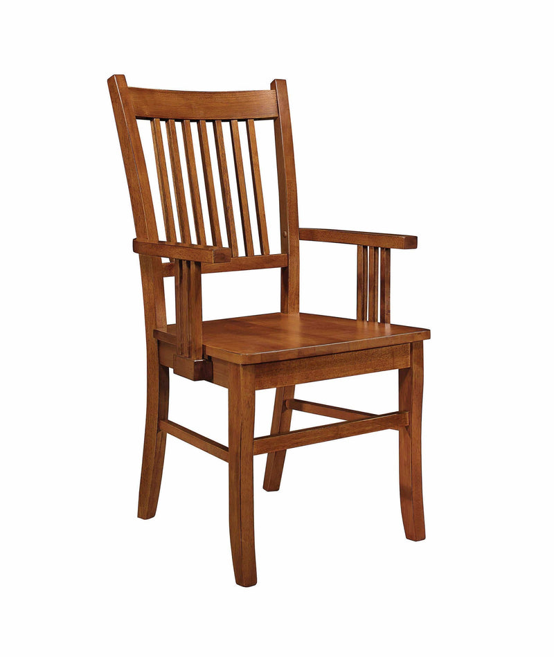 Marbrisa Mission Dining Arm Chair - What A Room Furniture
