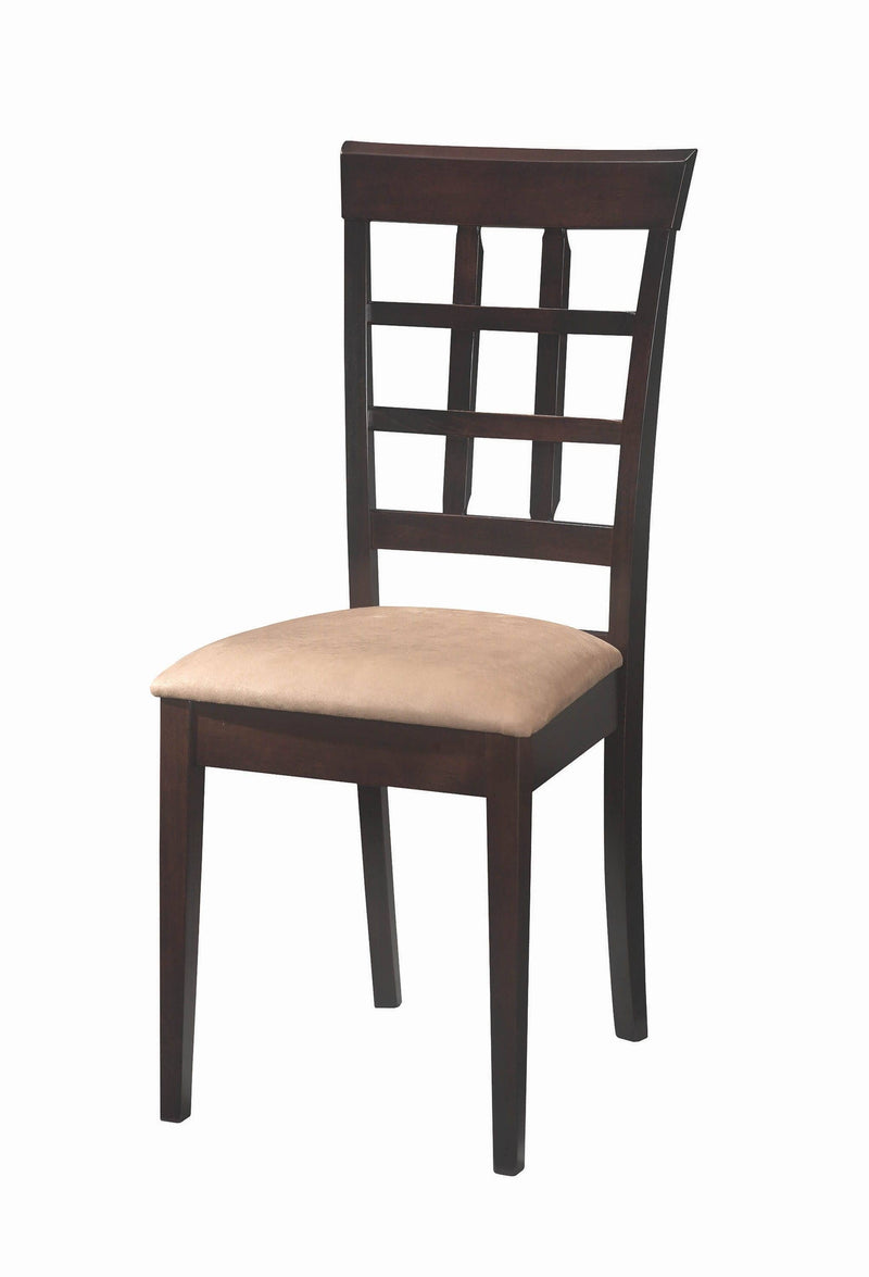 Gabriel Cappuccino Dining Chair - What A Room Furniture