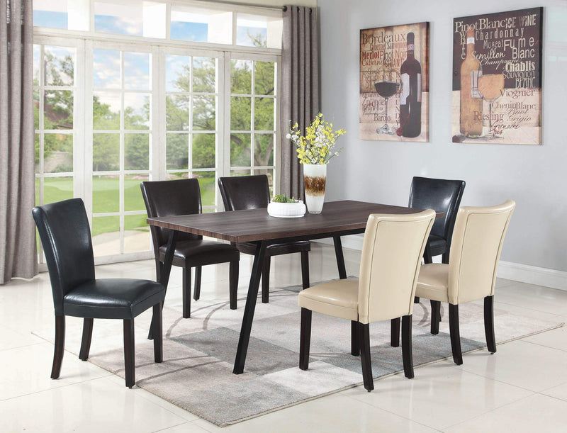 Carter Dining Side Chair in Black - What A Room Furniture
