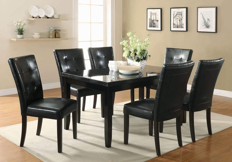 Anisa Black Side Chair - What A Room Furniture