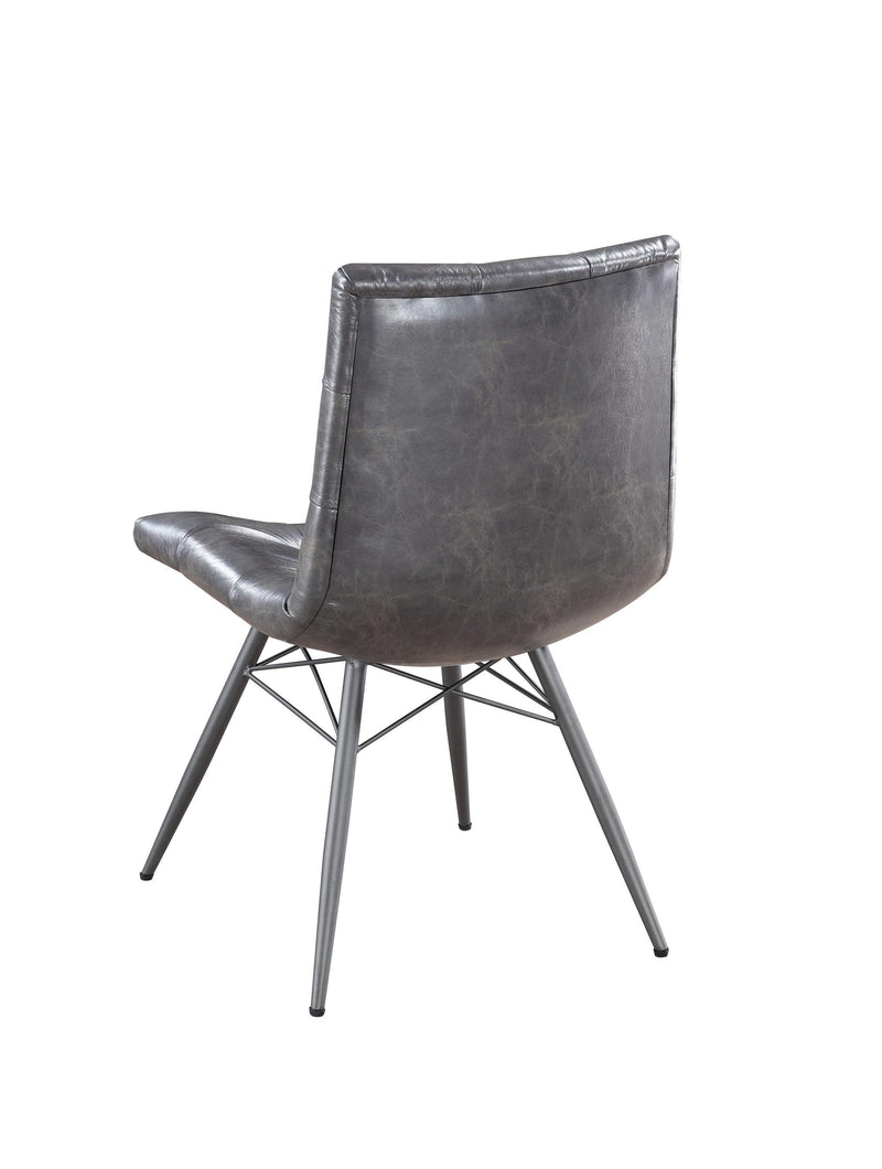 Scott Living Hutchinson Industrial Grey Dining Chair