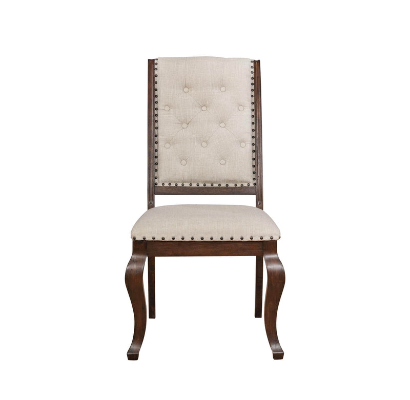 Scott Living Glen Cove Traditional Cream Dining Chair - What A Room Furniture
