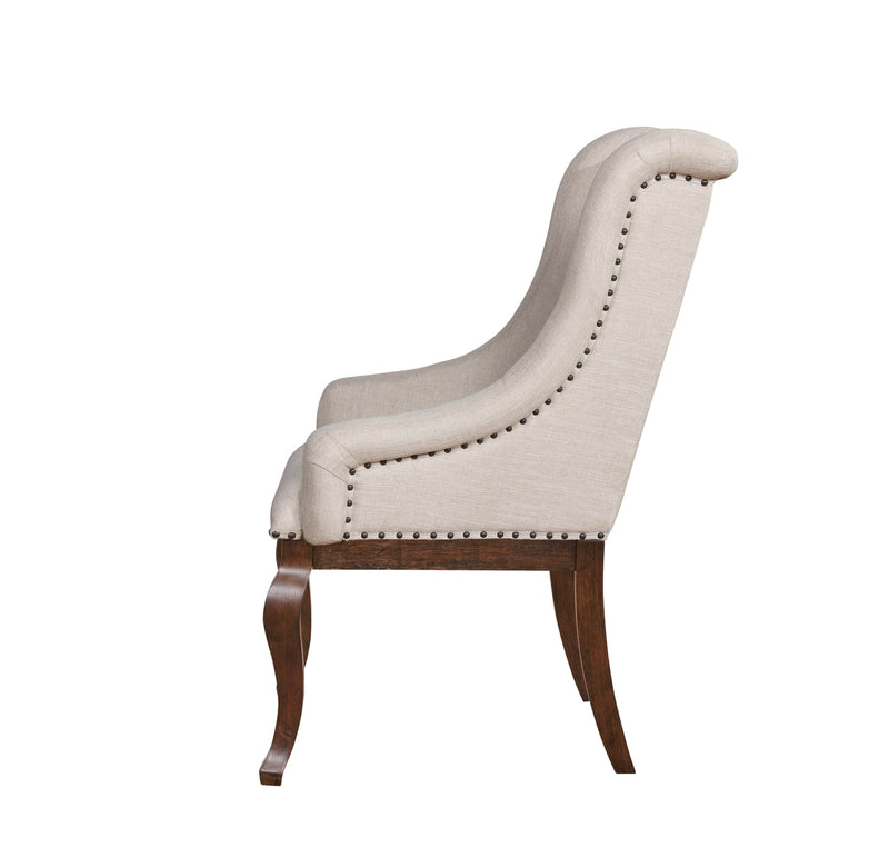Scott Living Glen Cove Traditional Cream Arm Chair - What A Room Furniture