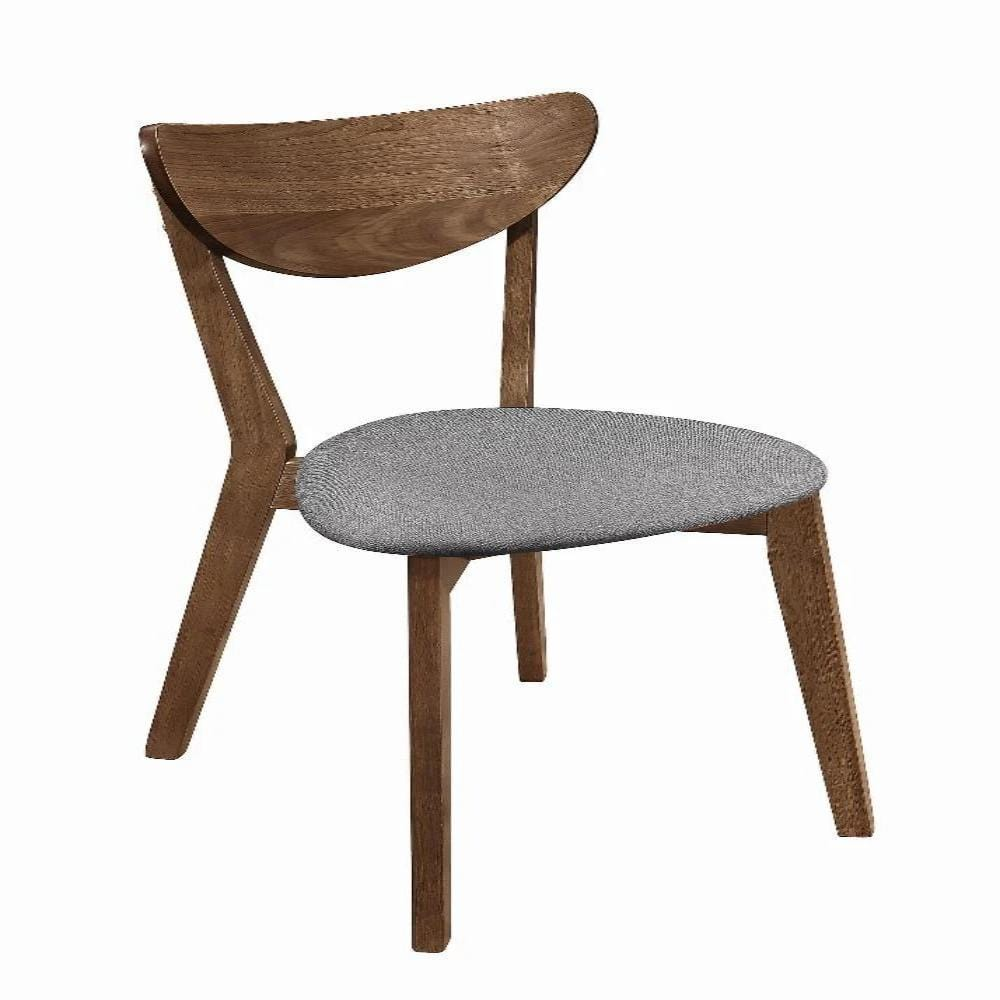 Alfredo Upholstered Dining Chairs Natural Walnut - What A Room Furniture