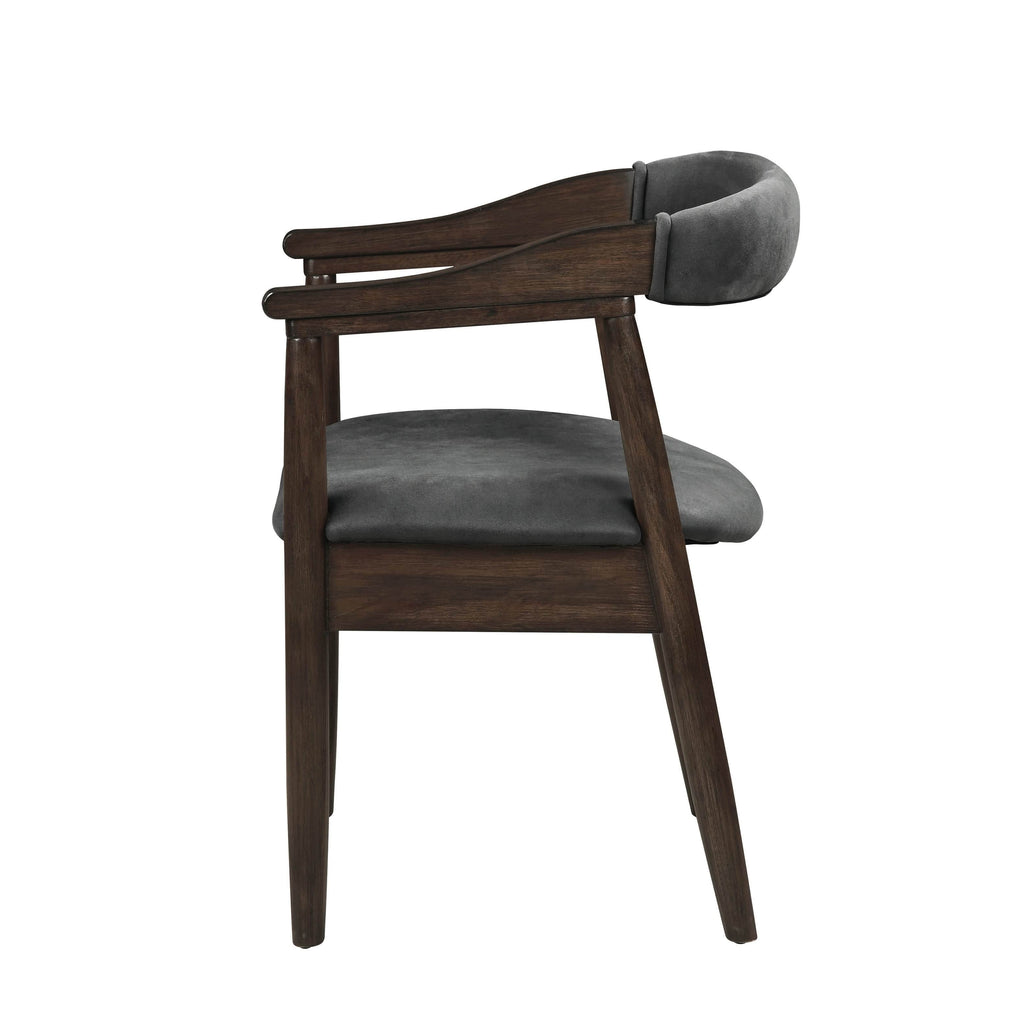 Scott Living Modern Craftsman Grey Armchair - What A Room Furniture