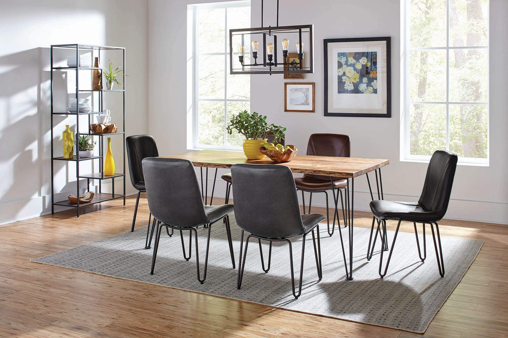 Chambler Charcoal Dining Chair - What A Room Furniture