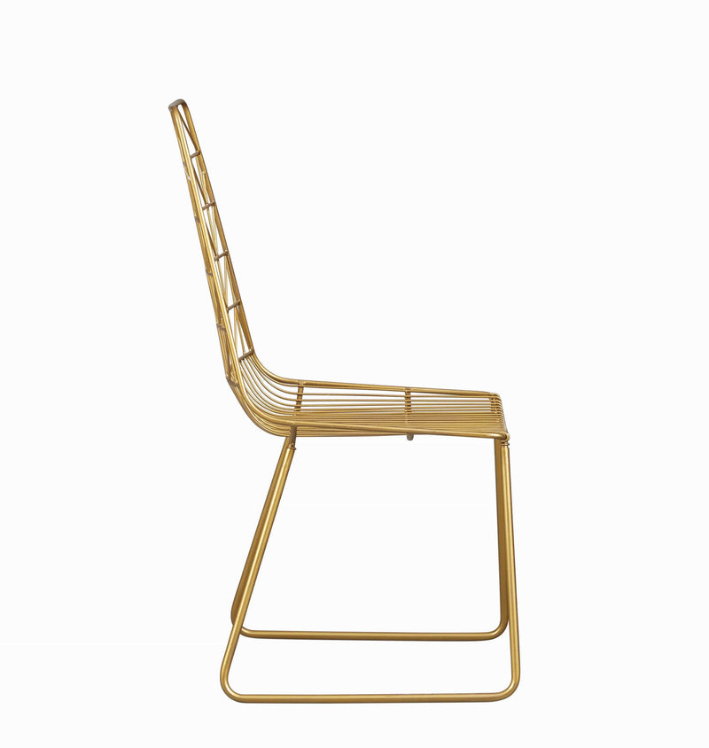 Anastasia Dining Chairs Gold