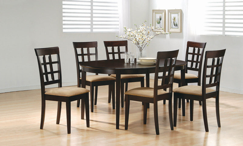 Gabriel Casual Cappuccino Dining Table - What A Room Furniture