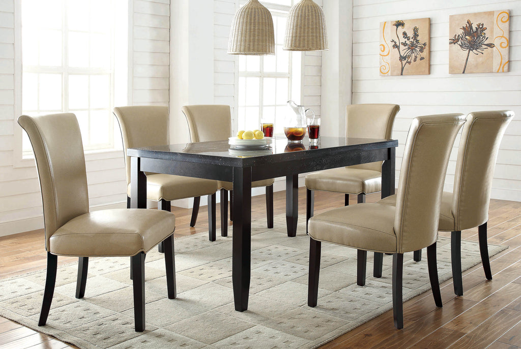 Newbridge Casual Cappuccino Dining Table - What A Room Furniture