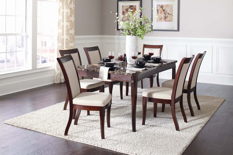 Cornett Transitional Dark Brown Dining Table - What A Room