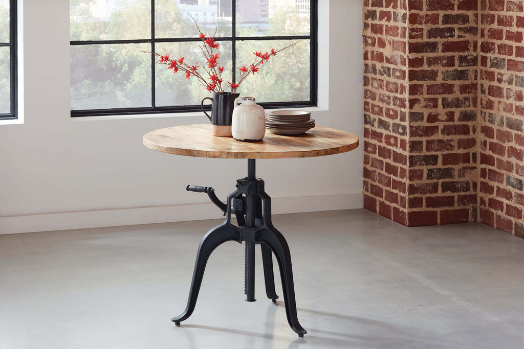 Galway Adjustable Height Dining Table - What A Room Furniture