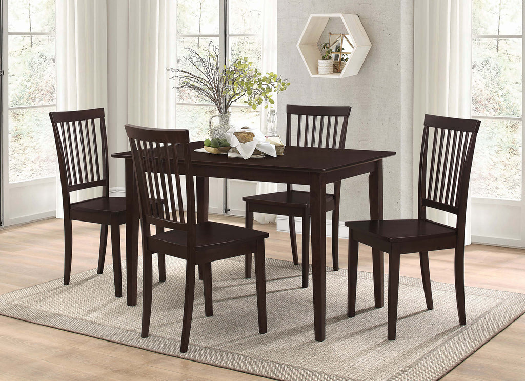Oakdale Casual Cappuccino Five-Piece Dinette Set - What A Room