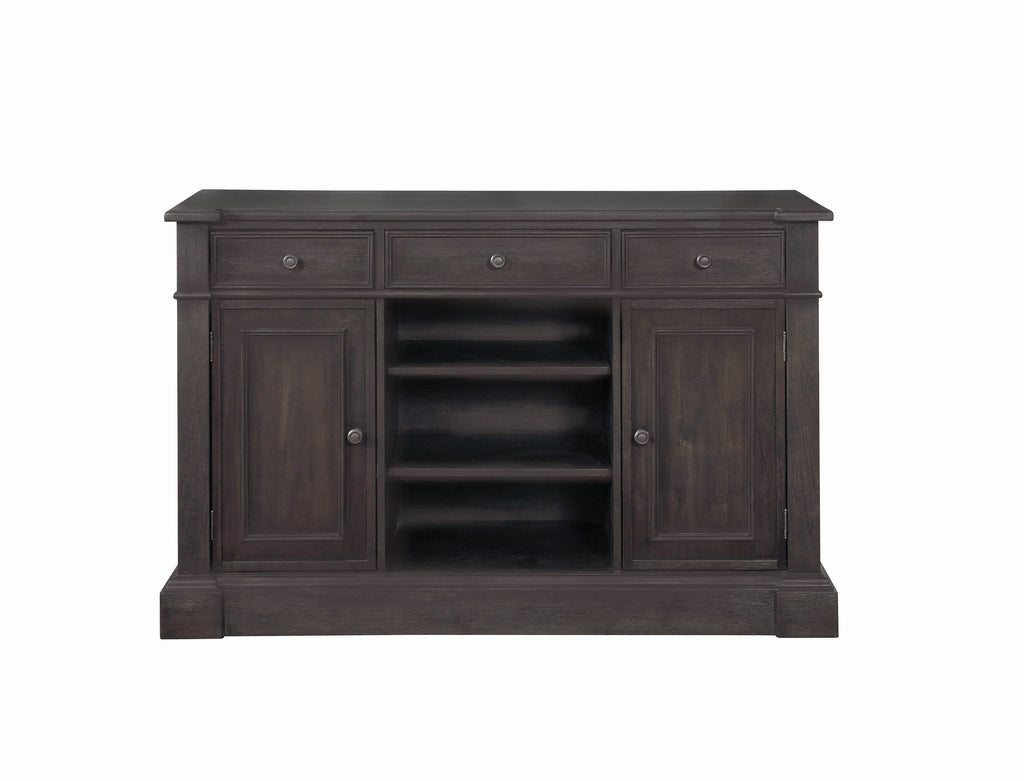Phelps Traditional Antique Noir Server - What A Room Furniture