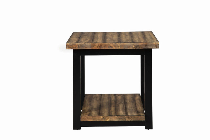 Scott Living Rustic Brown Sofa Table - What A Room Furniture