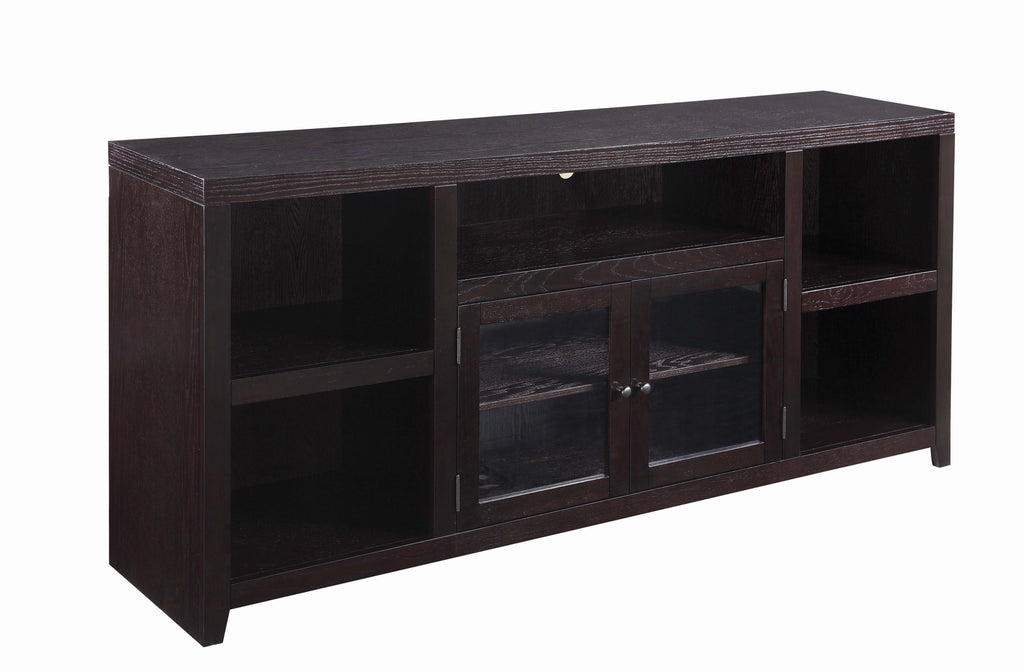 Scott Living Trista Transitional Black TV Console - What A Room Furniture