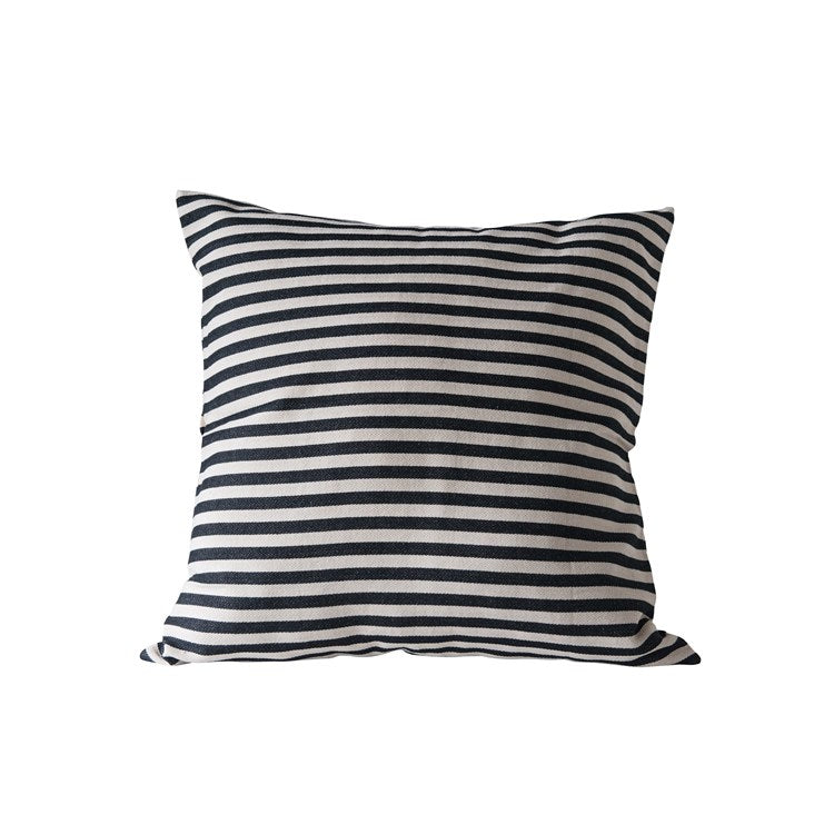 "20""Sq Rayon & Cotton Striped"