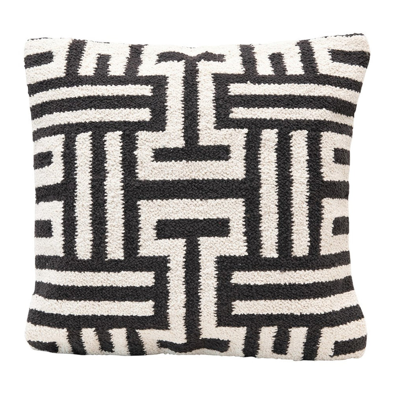 "20"" Sq Cotton Pillow, - What A Room"