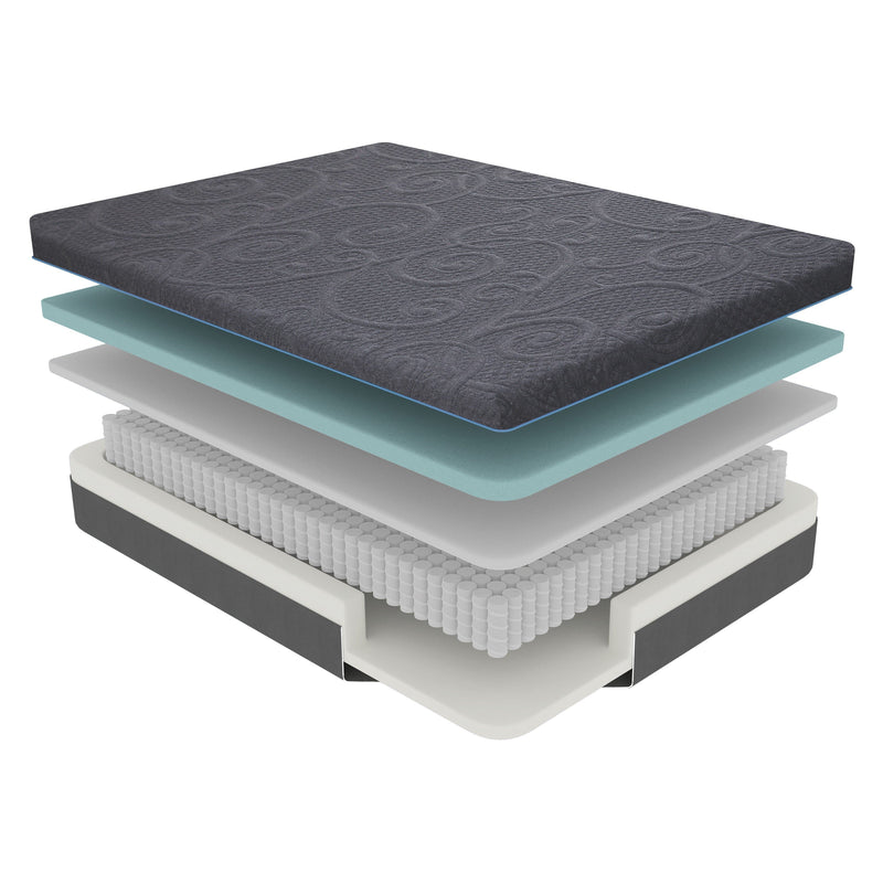 11'' Gel-Infused Memory Foam Hybrid