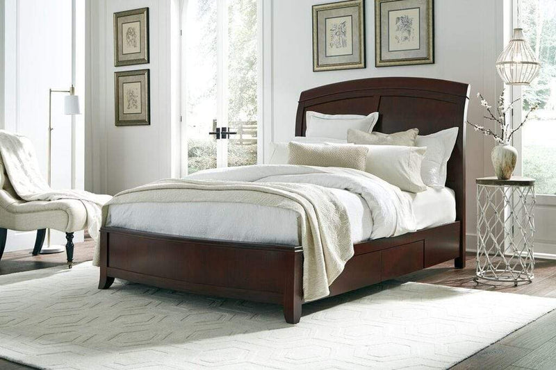 Brighton Wood Storage Bed in Cinnamon - What A Room