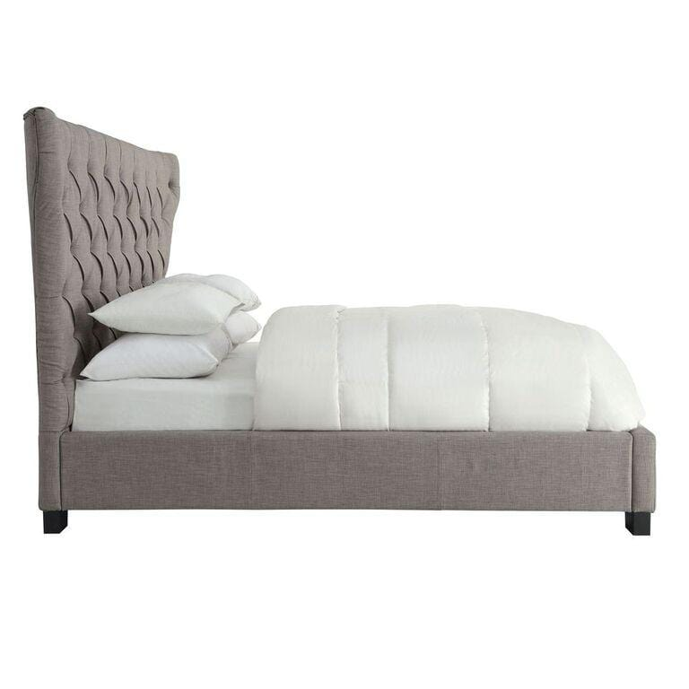 Madeleine Wingback Platform Storage Bed - What A Room Furniture