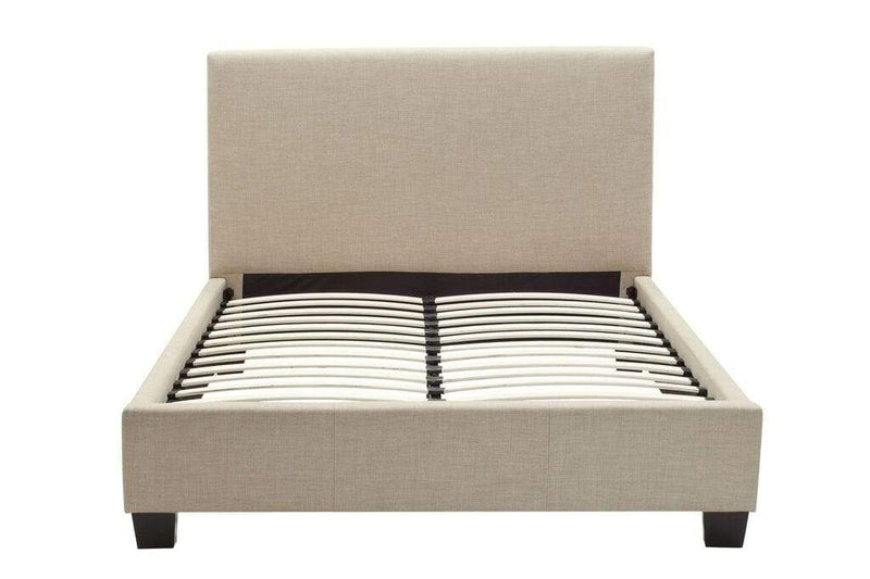 Saint Pierre Linen Platform Bed - What A Room Furniture