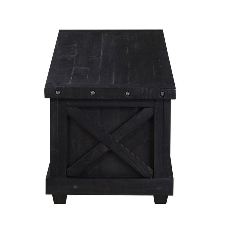 Yosemite Solid Wood Blanket Box in Cafe - What A Room Furniture