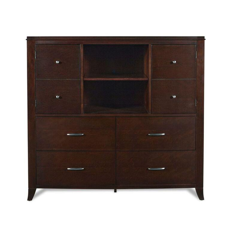 Brighton Media Chest in Cinnamon - What A Room Furniture