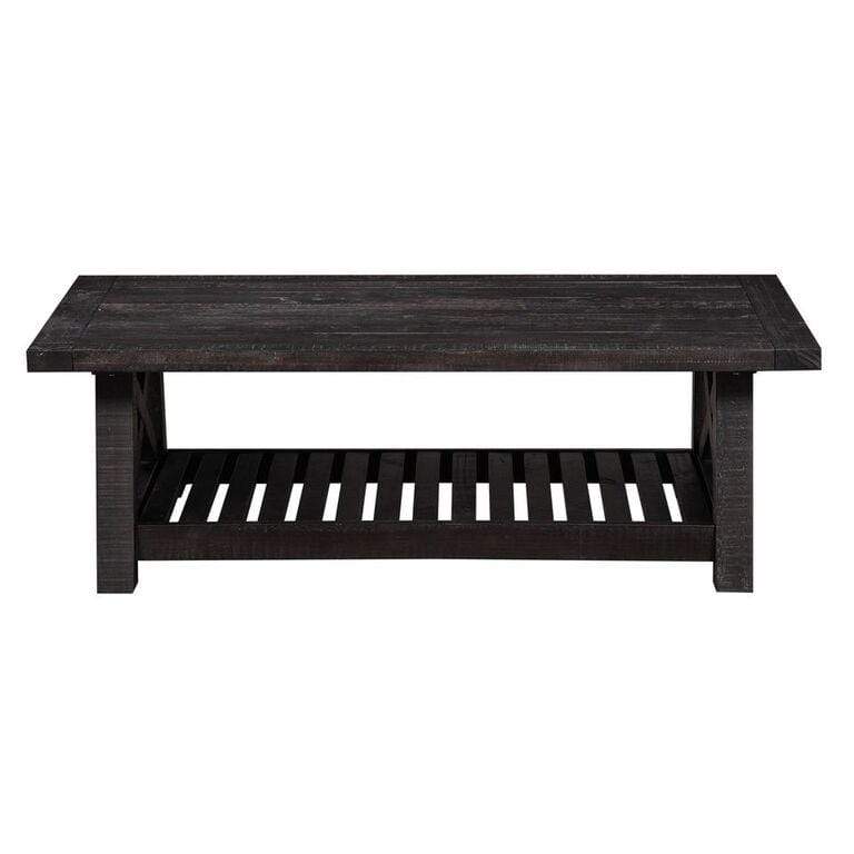 Scott Living Industrial Natural Mango Coffee Table
