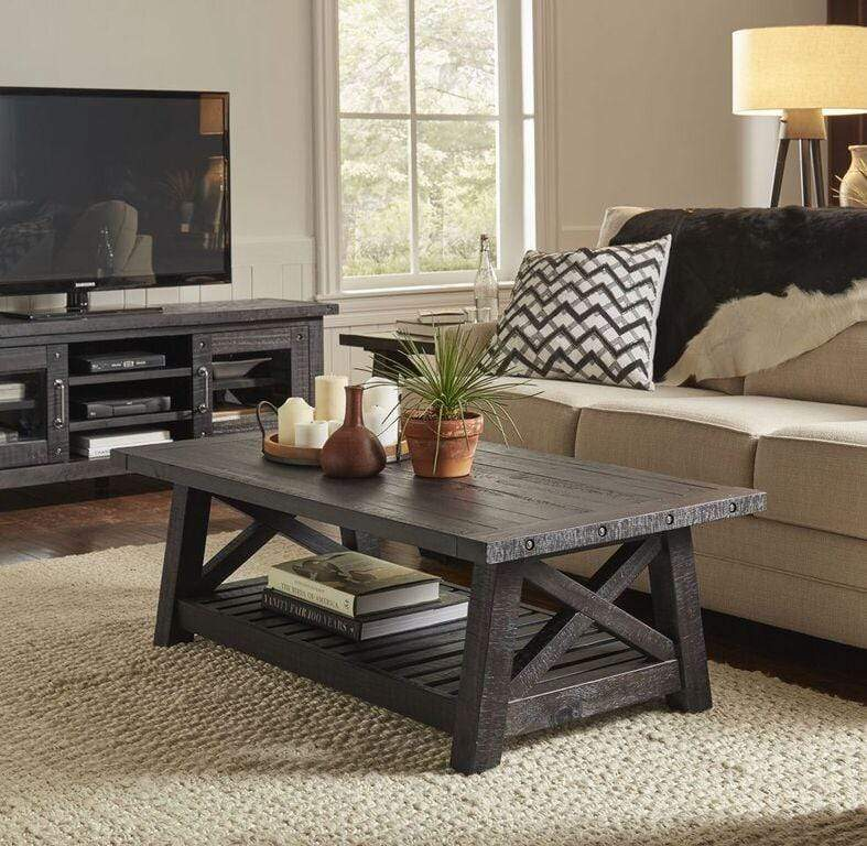 Yosemite Solid Wood Coffee Table in Cafe - What A Room Furniture